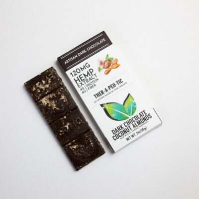 THC FREE COCONUT ALMOND DARK CHOCOLATE